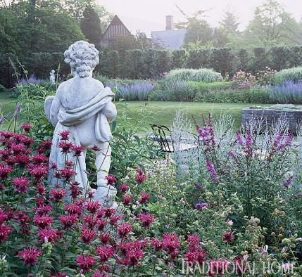 Lovely Hedge Row, English Garden 25 Years Of Beautiful Gardens | Traditional Home