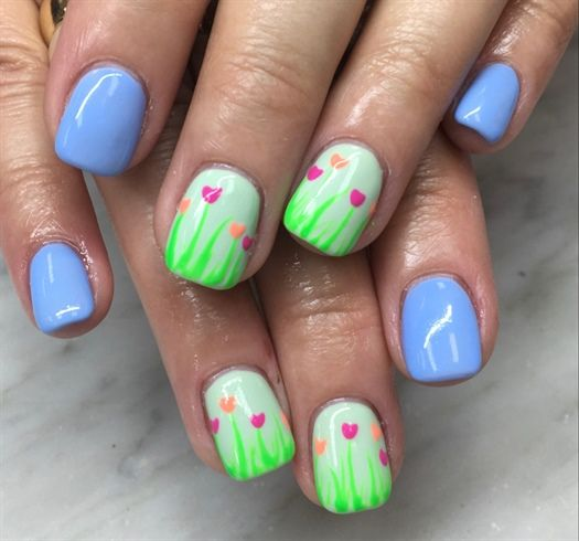 Easy Easter Nail Art: Top 25 Ideas About Easter Nail Art On Pinterest