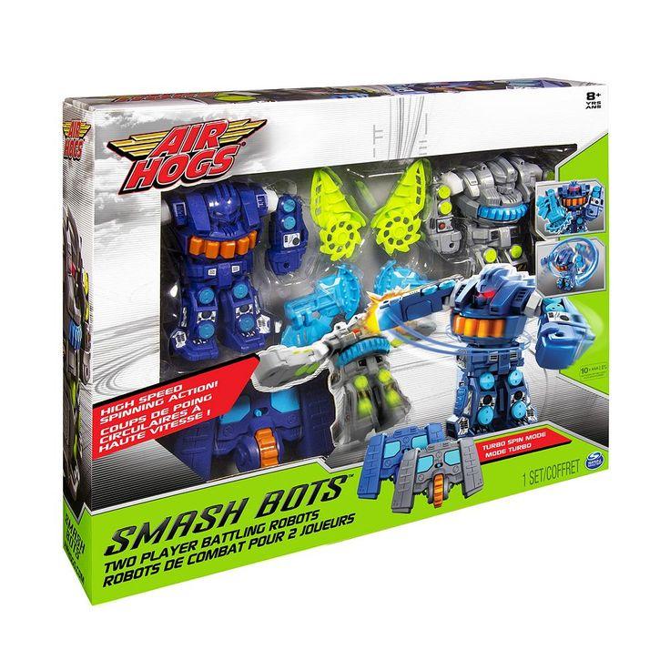 Air Hogs Smash Bots Two-Player Battling Robots, Multicolor