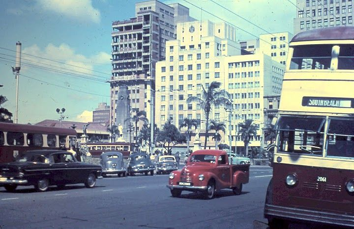 A typical sight for Lola as she returned to Durban from Europe. Her town was rapidly growing into the sophisticated city it is today.