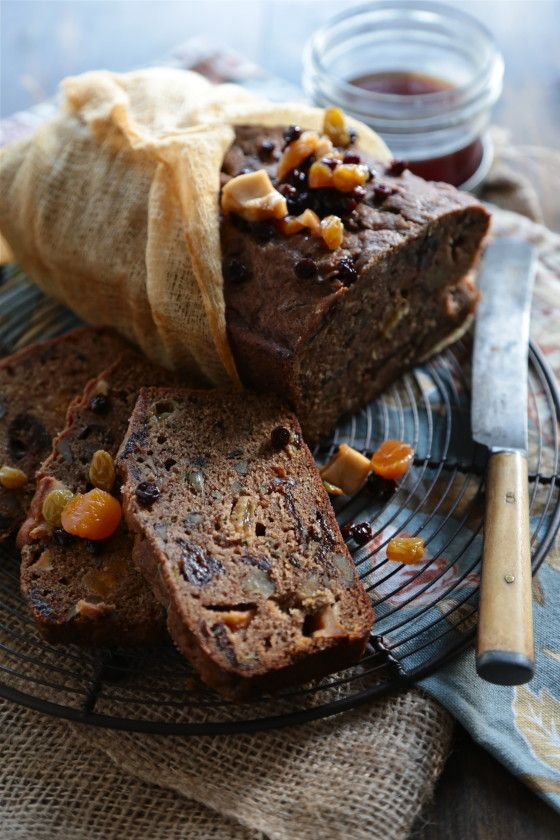 Brandied Fruit Cake - www.countrycleaver.com