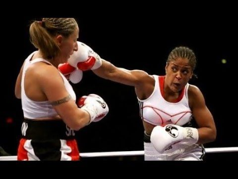 Laila Ali Record Boxing Videos - YouTube