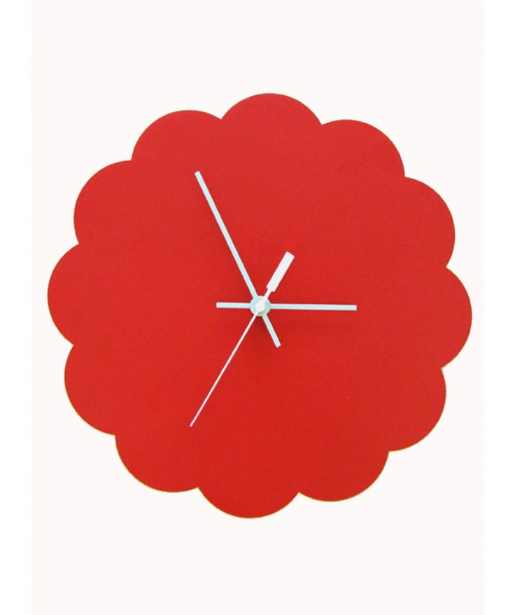 Red Cloud Clock Large- Wooden Wall Clocks for Sale Australia| Clocks for Sale