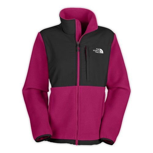 Buy Cheap North Face Denali Womens Jacket Fleece Gray - Pink at TNF.us.com