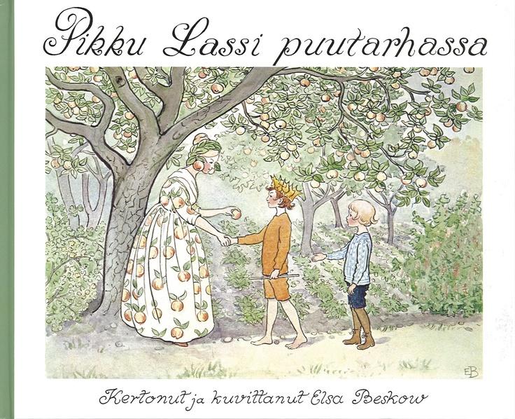 Elsa Beskow: Pikku Lassi puutarhassa