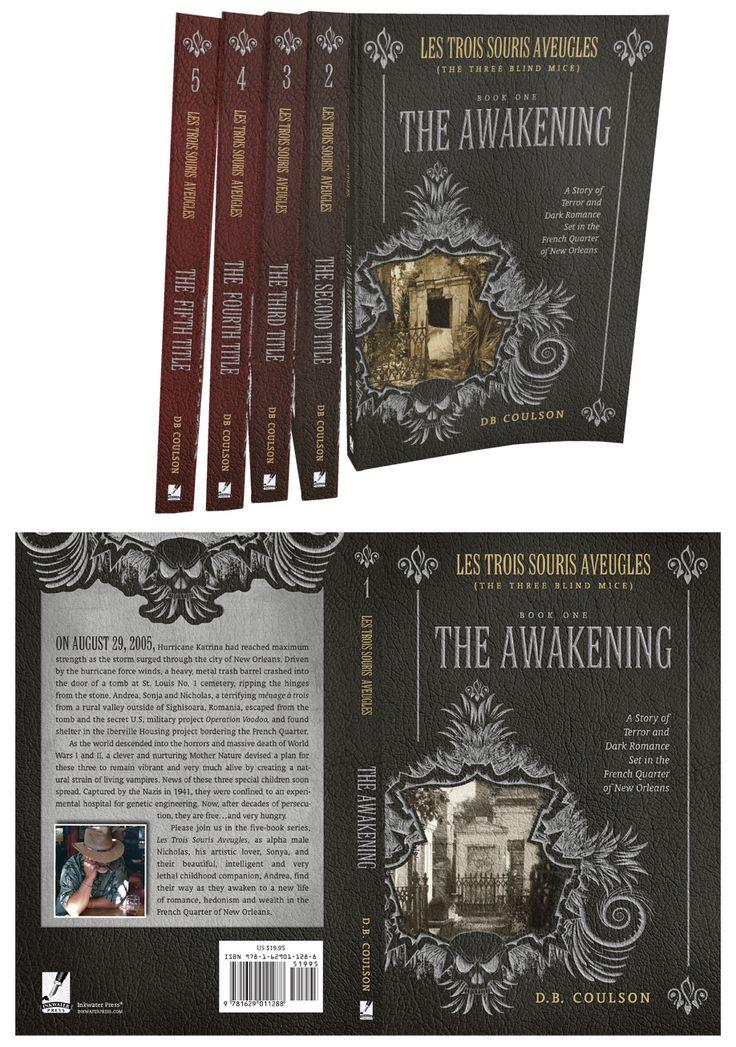 Book Cover & Book Set Design: Les Trois Souris Aveugles