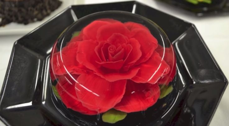 How To Make Jello Flowers - http://www.lovesimplecooking.com/how-to-make-jello-flowers/