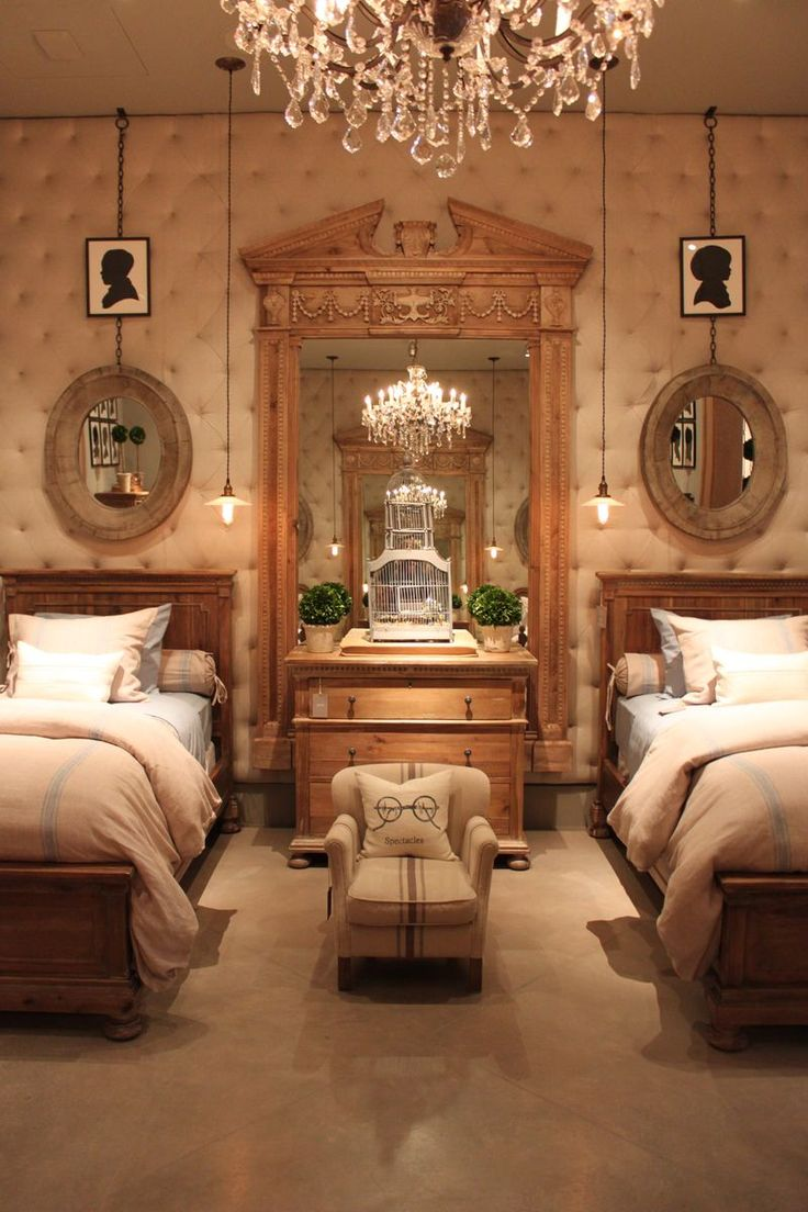 Restoration hardware bedroom furniture - Restoration Hardware Love The Upholstered Tufted Wall