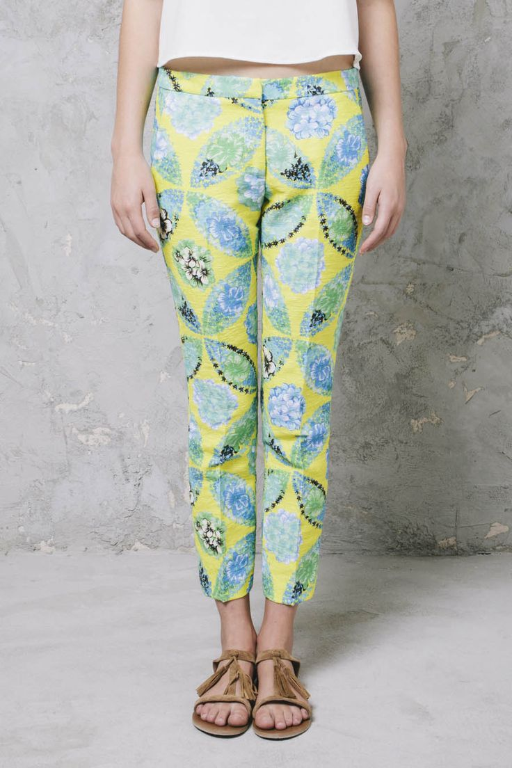 PANTALONI GIALLI FLOREALI #msgm #pants #flowers #pantaloni #WomensWear #women #WomenFashion #summer #ootd #outfit #look #ShoppingOnline #WomenStyle #fashion #style #shopping #inArchivio #ArchivioStore