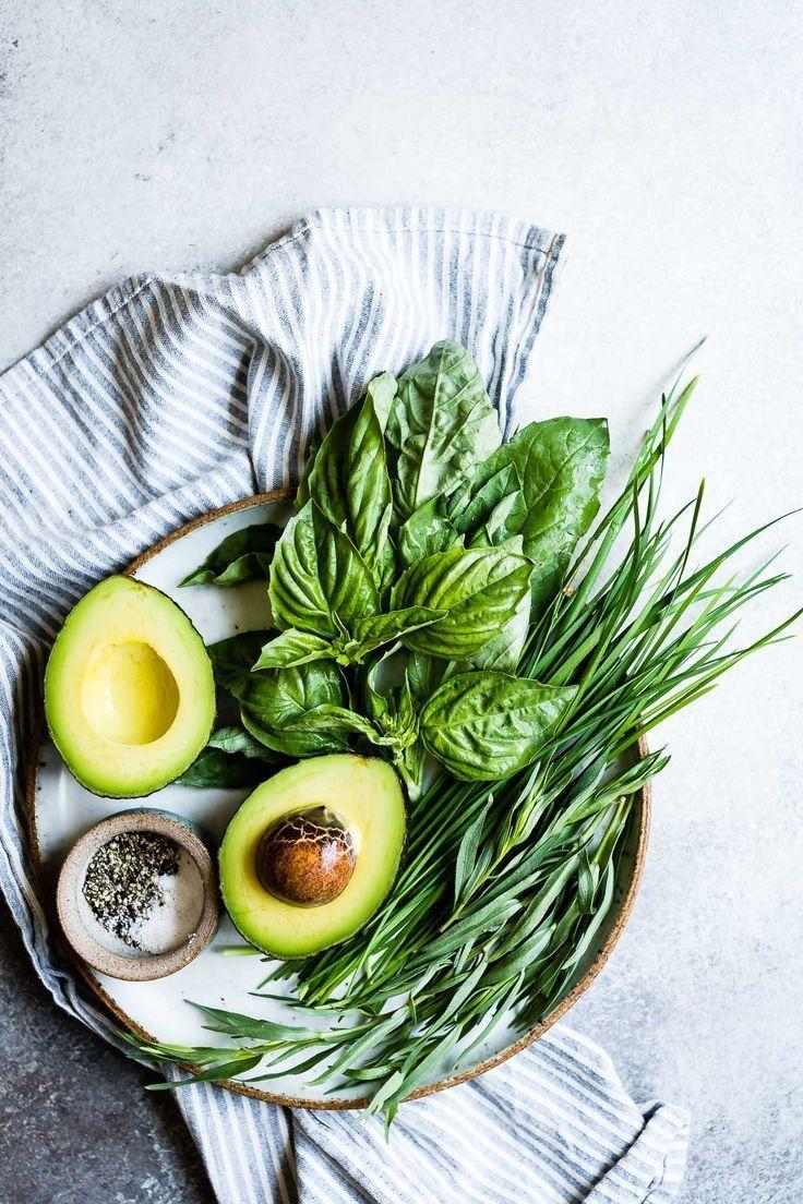 Avocado and Herbs