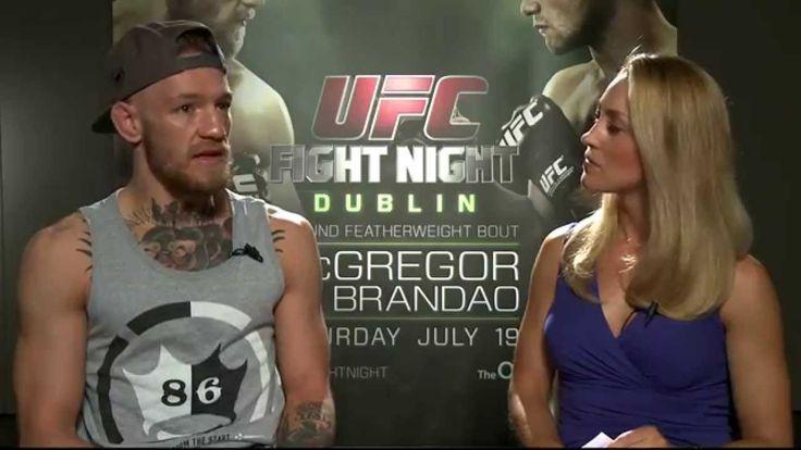 Fight Night Dublin: Conor McGregor Pre-Fight Interview