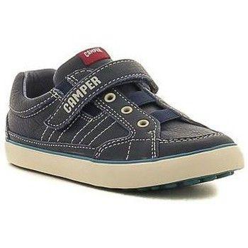Camper pursuit 80343-047 jongens sneakers (Blauw)