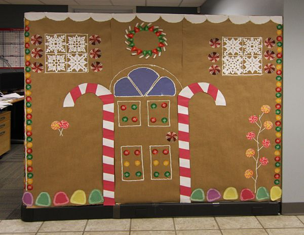 27 best Holiday Office Decorating Contest images on ...