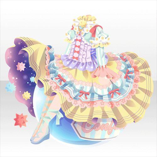 お菓子の国のお姫さま♪ガチャ@セルフィ「ファンタジアティードリーム」登場!