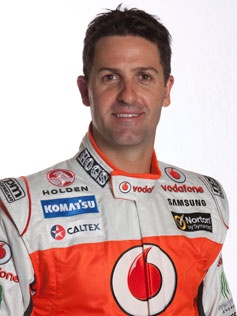 Jamie Whincup V8 Supercar Driver and one of the favorites for the title 2012
