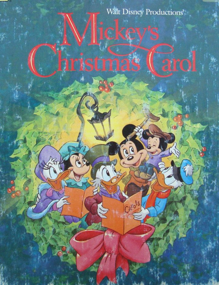 Mickey's Christmas Carol - Children's Picture Storybook - a Little Golden Book by OfftheShelf2015 on Etsy