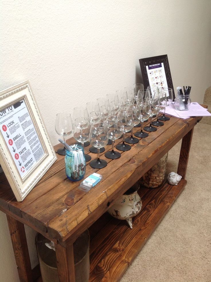 Wine tasting party I had!