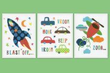 Arte da appendere in Mobili & Arredi > Arte & Decorazioni - Etsy Bambini