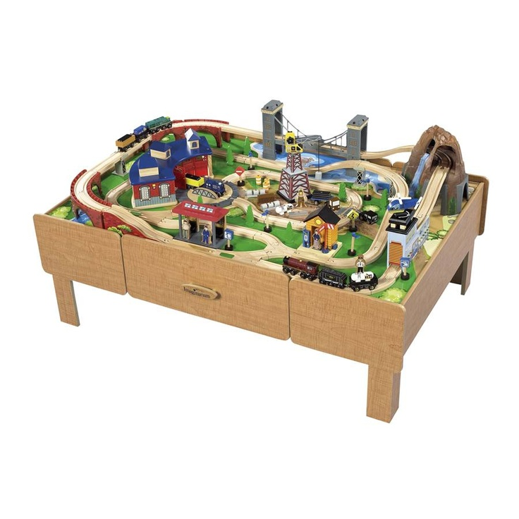 Pin imaginarium train table track layout image search for 10 in 1 game table toys r us