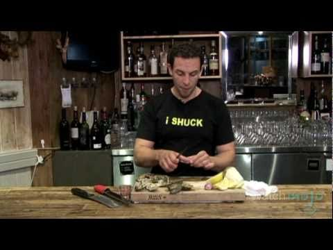 How to #Shuck An #Oyster: Tips and Tricks via WatchMojo.com