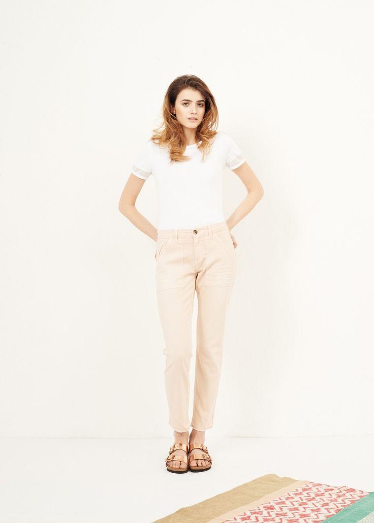 Pantalon perth rose - bas femme - sud express 2