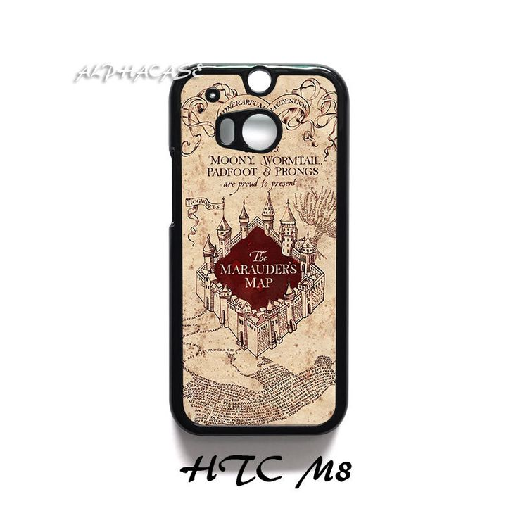 Harry Potter Marauders Map HTC One M8 Case