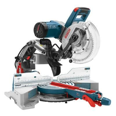 Bosch 15-Amp 10 in. Dual Bevel Glide Miter Saw-CM10GD - The Home Depot  $599.00