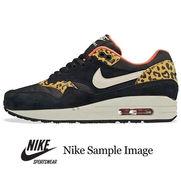 nike air max 1 leopard print trainers
