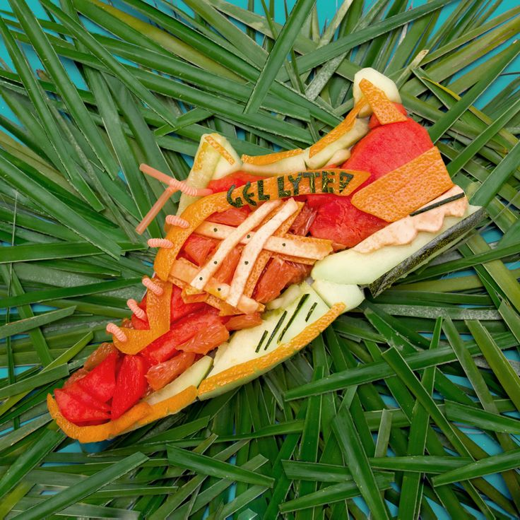 Whoever said that you shouldnt play with food, certainly hadnt seen Ache Rodriguezs art project. TheGel Lyte V Volcano of Dashape and Asics had a major makeover, since Rodriguez launched its ed...