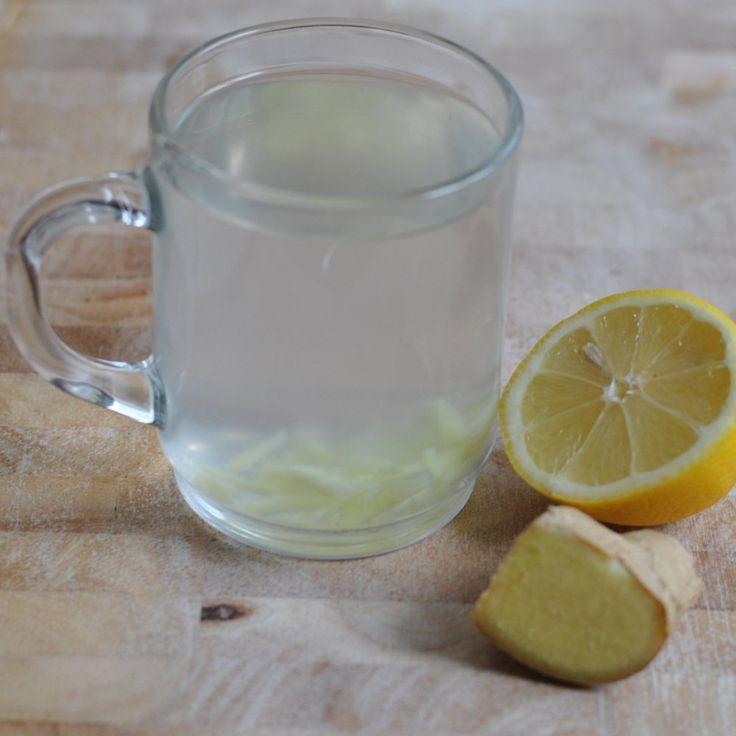 Zitrone und Ingwer