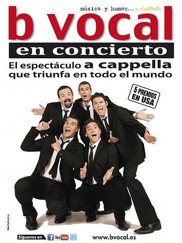 Concierto de B Vocal este domingo en el ágora de la Biblioteca Miguel Hernández - villalbainformacion.com