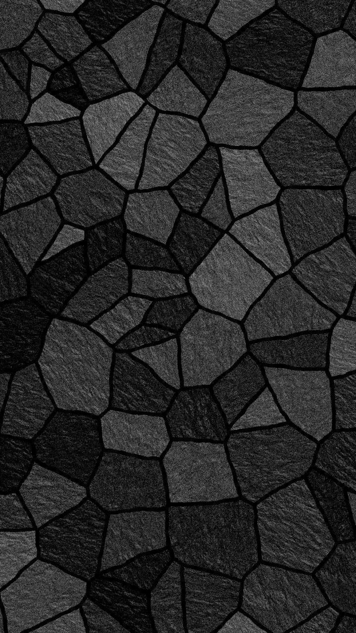 Great Shades Of Black Graphic Wallpaper Black Phone