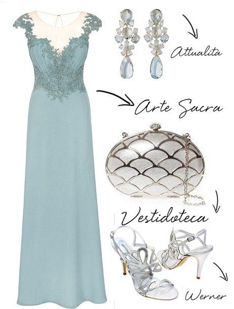 Madrinhas de casamento: Copie o look: vestido de madrinha azul claro