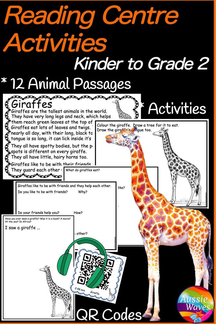 Reading Passages And Activities For Grades K 2 Reading Passages Teaching Reading Skills Reading Comprehension Skills [ 1104 x 736 Pixel ]