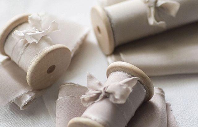 Шелковые ленты в декоре | A-bride.ru