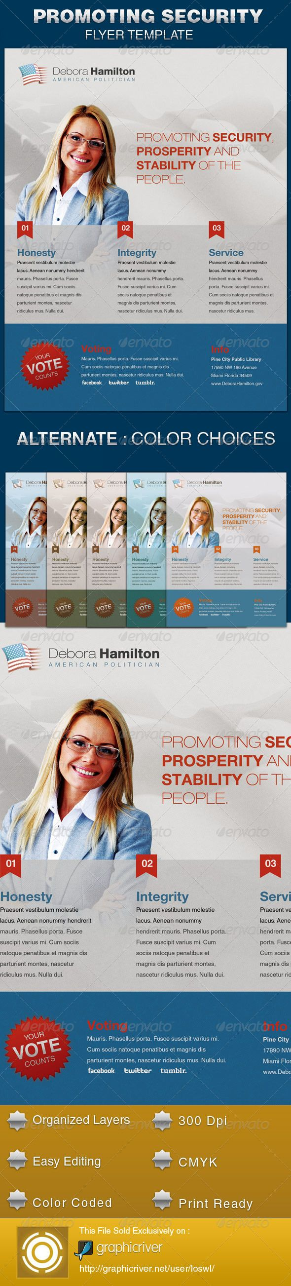 17 best images about political flyer template fonts promoting security political flyer template