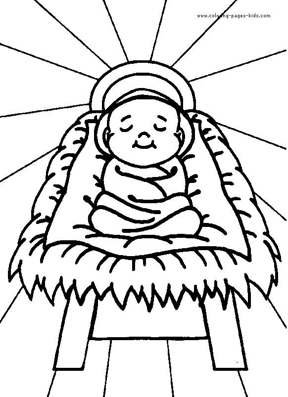 christian coloring pages christian christmas coloring pages ...