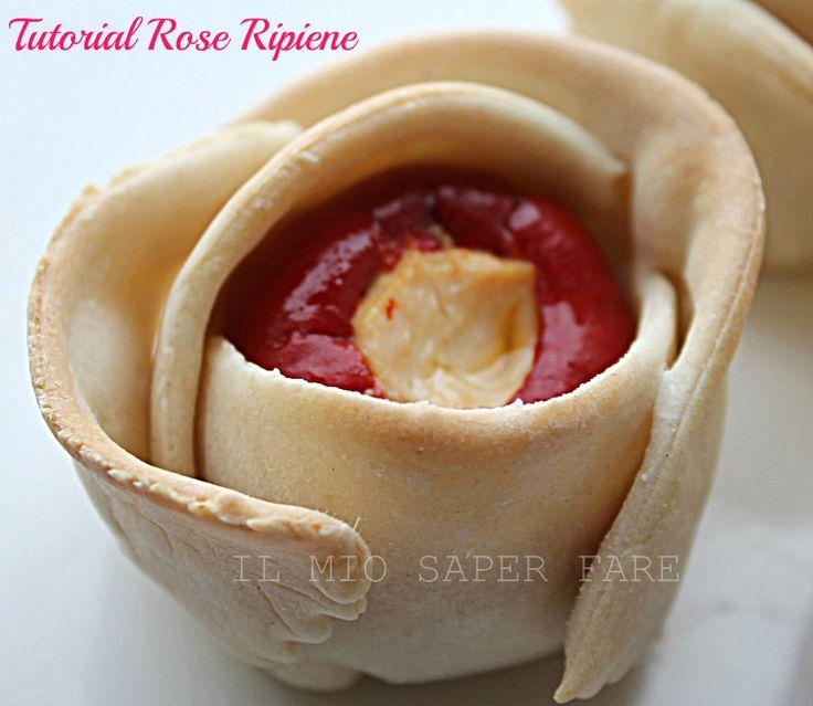 Tutorial Rose Ripiene   Pasta Matta il mio saper fare