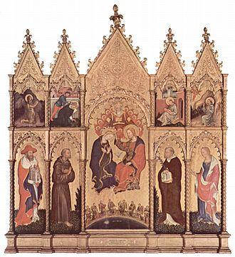 gentile, 1410-12, Polittico di Valle Romita