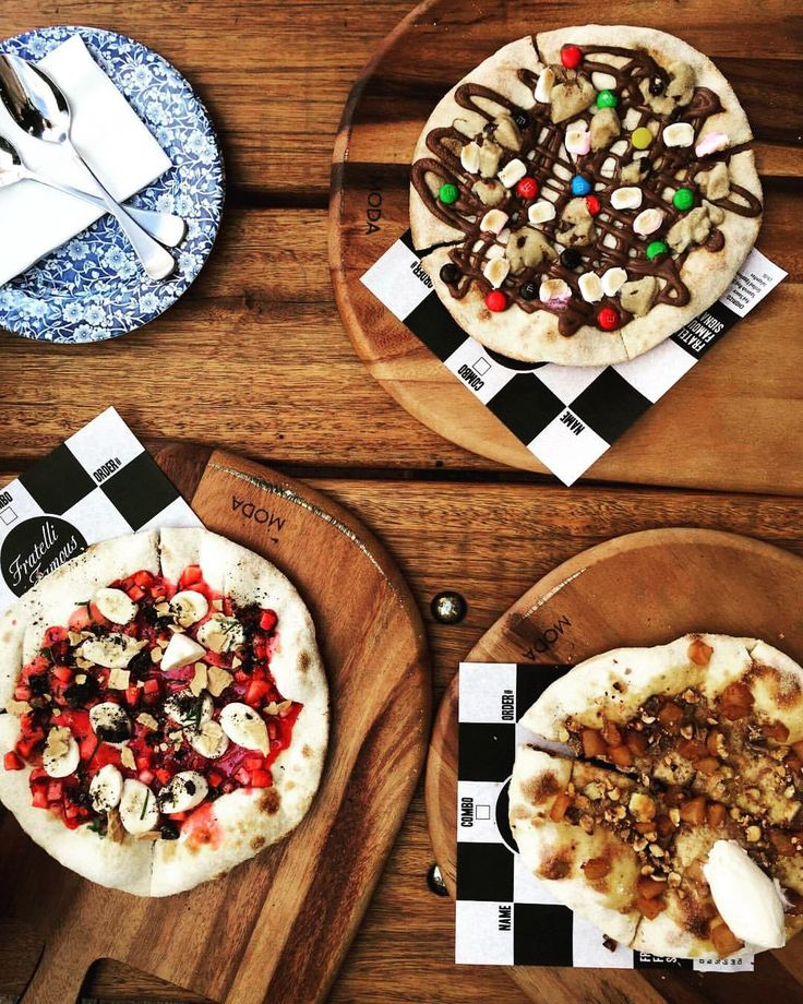 """36 Likes, 1 Comments - Anastasia Gryllis (@julietsvengeance) on Instagram: """"Spent the day creating new dessert pizzas at @fratellifamous with @alexiakaitlenn soon to come!!…"""""""