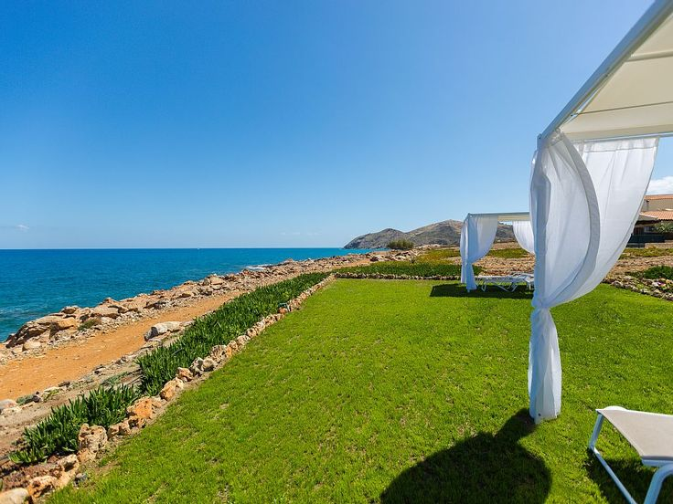 Panormos house rental - Beach 10 m away from the apartment.