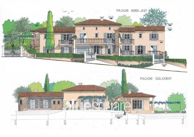 3 villas jumelées discrètement à vendre au Rouret.    La villa N°3 a 90 m2 habitable avec un garage/ sous-sol à aménager de 60m2 sur une surface de terrain de 541m2.    Chaque villa a son entrée particulière et est personnalisable à souhait.  Frais de notaire sur le terrain uniquement.    475 000€ pour le terrain, la construction et viabilisation.  A la charge de l'acheteur: peintures intérieures, cuisine, portail et clà´ture intérieur du terrain.