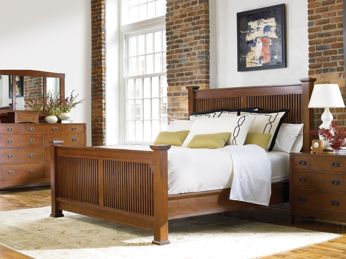 Prairie Post Bed By Stickley   Stickley Mission   Pinterest   Craftsman And  Bedrooms
