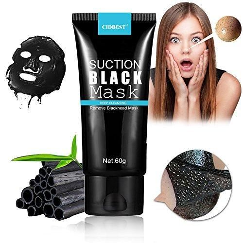 Blackhead Peel Off Mask Blackhead Remover Mask Purifying Peel-off Mask Oxygen Beauty Mask Black Mud Pore Removal Strip Mask For Face Nose Acne Treatment Oil Control 1Bottle