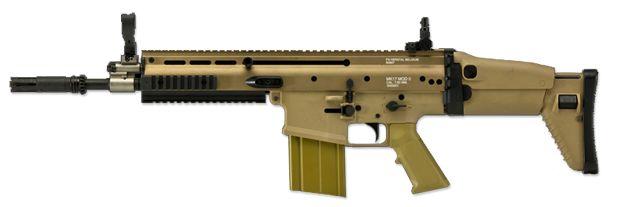 FN Herstal Licensed Full Metal SCAR Heavy Airsoft AEG by VFC - Dark Earth