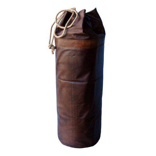 Boxsack Retro Leder braun