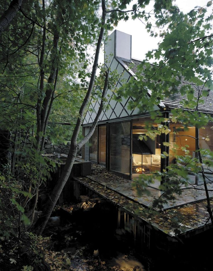 Vacation Home Spotlights Swedish Sauna Ritual - http://freshome.com/vacation-home-swedish-sauna/