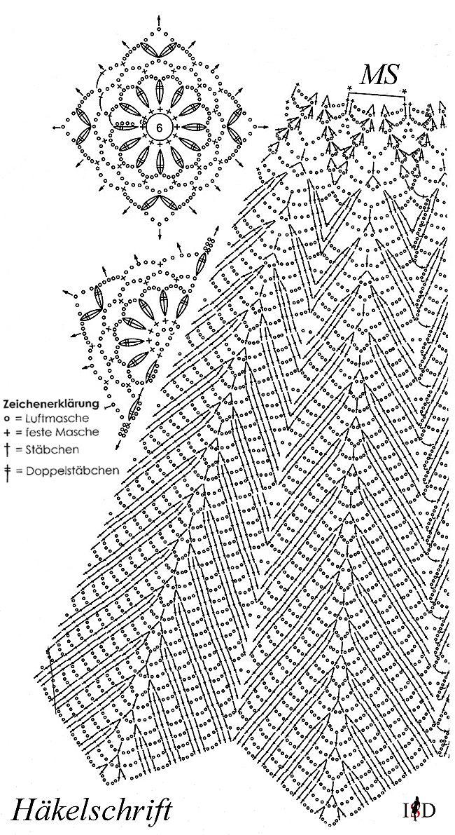 Häkelschrift – crochet, sewing