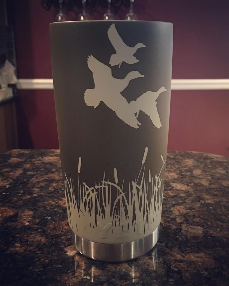 A duck hunting marsh scene completed for a low country wildlife officer and…