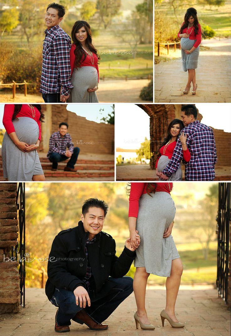 Maternity Photo Session #maternity poses #couple photography   bellaroseportraits.com